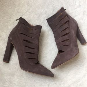 *NEW* Steve Madden Caged Heel Ankle Booties